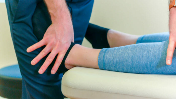 Equilibrium Physical Therapy Talocrural Close Up