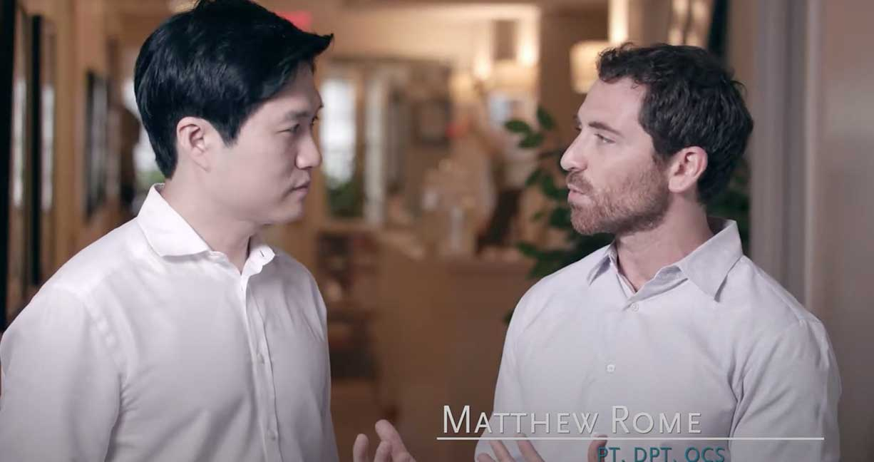 Matt And Dr. Brian Chung TMJ Interview